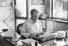 WP HL at his desk